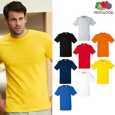 Fruit of the Loom FOTL - Men's Heavy Cotton Tee - Plain T-shirt Top T Casual