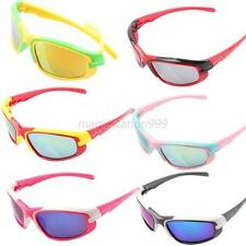 Hot Kid Boys Girls UV400 Sunglasses Outdoor Sport Cycling Bicycle Eyewear Goggle