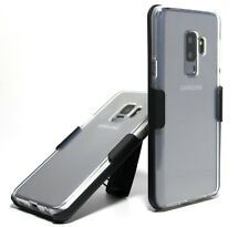 SLIM SOFT TPU GEL CASE with BELT CLIP HOLSTER for Samsung Galaxy S6 & S6 edge