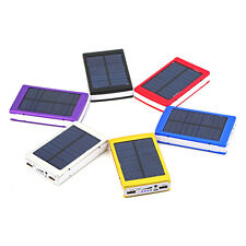 50000mAh Portable Super Solar Charger Dual USB External Battery Power Bank EVM