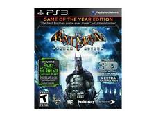 Batman: Arkham Asylum Game of the Year Edition  (Sony Playstation 3, 2010)
