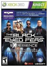 Black Eyed Peas Experience: Limited Edition  (Xbox 360, 2011) KINECT GAME