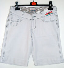 New Ladies women casual  Summer Denim white Shorts sz8-16