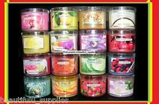 Bath and Body Works CANDLE *** Mini Votive 1.6 oz plastic *** YOU CHOOSE NEW