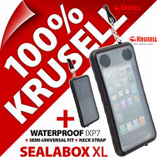 NEW KRUSELL SEALABOX XL WATERPROOF MOBILE PHONE CASE COVER POUCH UNDERWATER DRY