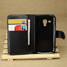 For Samsung Galaxy S Duos 2 S7582 Trend Plus S7580 Wallet Leather Case,4 Colors