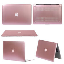 "Glossy Metallic Hard Case for Apple Mac Macbook Air Pro Retina 11"" 13"" 15"" Pink"