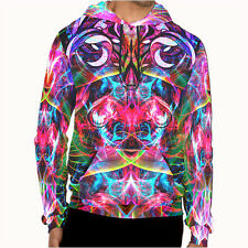DMT magic mushroom psychedelic art Collection 1 Mens Hoodie jacket