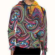 DMT magic mushroom psychedelic art Collection 5 Mens Hoodie jacket