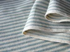 100% cotton yarn dyed woven TICKING STRIPE fabric for crafts furnishing by meter