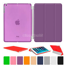 Magnetic Leather Smart Cover Hard Back Case For Apple iPad 2 3 4 5 6 Mini 1 2 3