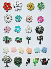 Cute New Floating Charms Memory Lockets Living Story Flowers Outdoors Spring