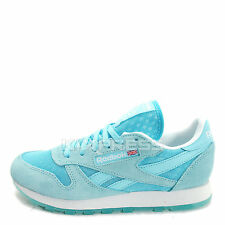 Reebok CL Leather Ice [V63514] Classic Running Pool Blue/White