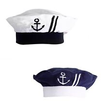 Nautical Sailor Embroidered Baby Boy Hat, 3-12 Months, NWT