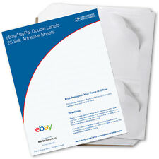 New USPS Click-N-Ship eBay/PayPal Double Labels (100 Pack)