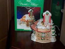 Holiday Time Santa's Theater Lighted Christmas Village House