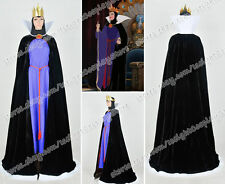 Snow White And The Seven Dwarfs Cosplay Costume The Evil Queen Whole Set Dress