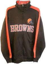 Cleveland Browns NFL End Zone Full Zip Mens Track Jacket Big & Tall Sizes