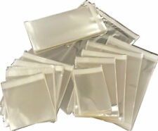 Clear Cello Cellophane Bags for Greeting Cards - Sticky Seal Plastic Display Bag