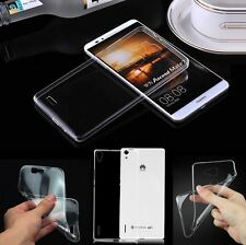 For Huawei Smart Phone Thin Crystal Transparent Soft TPU Gel Cover Case Skin