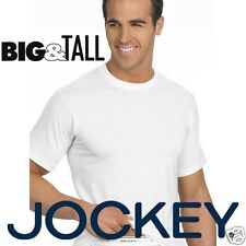 Jockey Mens Big & Tall Classic Crew Neck 2 Pack T-Shirt Short Sleeve Tee Shirt