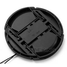 Protectable camera body cap front lens cap cover hood for nikon DSLR with cord