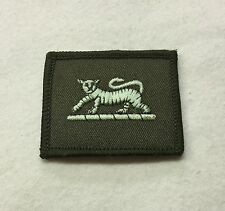 PWRR TRF Tiger Badge Flash Patch Velcro Option Army Military MTP Green
