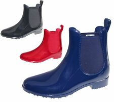 Ladies Wellington Ankle Boots Womens Gust Wellies Rain Snow Boots Shoes Size