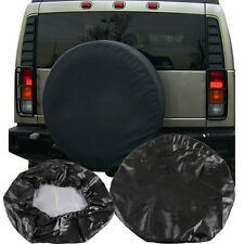 Spare Wheel Tire Tyre Black Cover Pouch Bag Protector Covers 14'' 15'' 16'' 17'