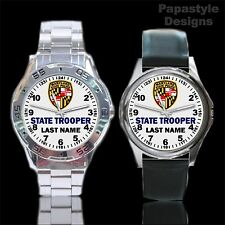 Maryland State Police Personalized Analog Watches