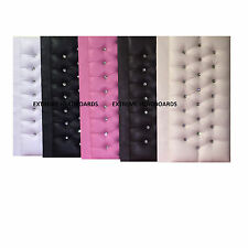 SPANISH LEATHER HEADBOARD FREE P&P (AVAILABLE IN 5 COLOURS + 6 SIZE)