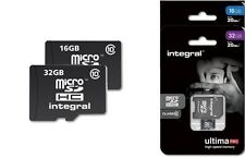 Integral 16GB 32GB Ultima Pro Micro SD SDHC Class 10 - 20MB/s Memory Card