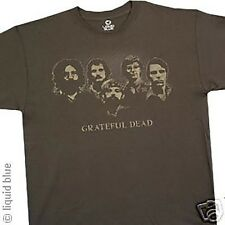 GRATEFUL DEAD-VINTAGE PHOTO-JERRY, PHIL, BOBBY, MICKEY-T SHIRT MEDIUM LICENSED