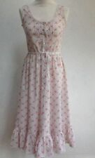 Vintage Laura Ashley Made In Carno Wales Summer Dress Size 8