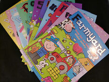 Colourful A4 Kids Activity Book - Contains Puzzles, Stickers & Press Out & Make