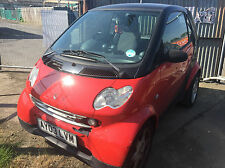 2003 Smart 0.7 Pulse MOT STARTS+DRIVES SPARES OR REPAIRS