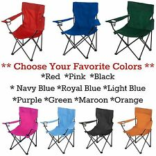 Folding Outdoor Chair Lawn Camping Picnic Beach Patio Portable Seat *FREE SHIP*