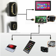 Micro HDMI to HDMI Cable For Gopro Hero 4 3 3+ 2 1080P HDTV Video Camera 1.4V
