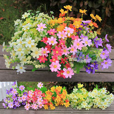 Artificial Silk Flower Daisy Bouquet Fake Flowers for Party Wedding Table Decor