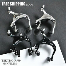 Tektro R559 Long Reach Caliper Brakes Black / Silver (53 - 73mm)