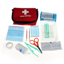 Mini First Aid Kit Emergency Survival Pack Travel Medical Sport Outdoor Home Bag