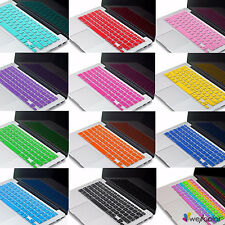 Thin Silicone Keyboard Cover Skin for Apple MacBook Air Pro Retina Mac 13 15 17""