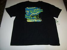 NEW Fox Racing RIDERS black t shirt short sleeve  boys youth large or XL