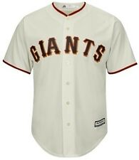 San Francisco Giants Majestic Authentic Cool Base Jersey Cream Big & Tall Sizes