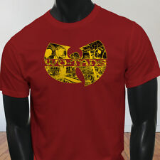 Rap Hip Hop Gza Rza ODB WU TANG CLAN COMICS Mens Red T-Shirt