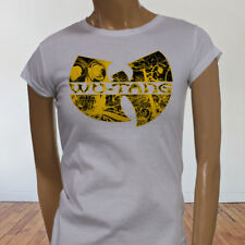 Rap Hip Hop Gza Rza ODB WU TANG CLAN COMICS Womens White T-Shirt