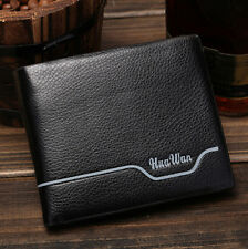 Fashion Men's PU Leather Bifold Wallet Credit Card Clutch Coin Purse Wallets