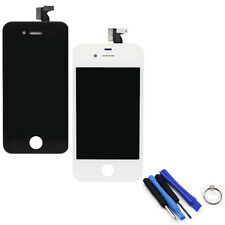 TOUCH SCREEN + LCD DISPLAY RETINA + FRAME  APPLE IPHONE 4S BIANCO VETRO SCHERMO