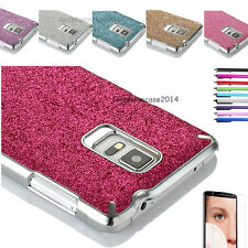 Luxury Bling Glitter Hard Chrome Aluminum Case Cover For Samsung Galaxy Note 4