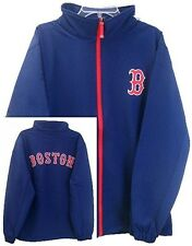 Boston Red Sox MLB Majestic Apex Bonded Jacket Mens Navy Blue Big & Tall Sizes